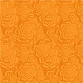 Orange seamless polygon pattern background — Stock Vector