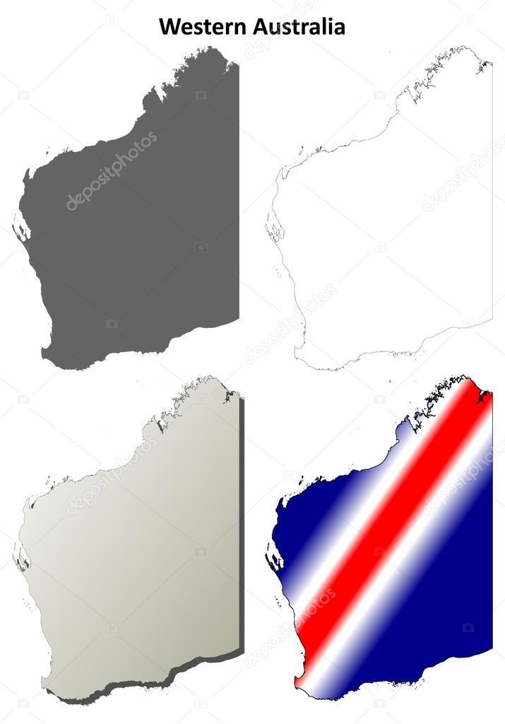 карты схемы - векторная