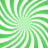 Green spiral pattern background — Stock Vector