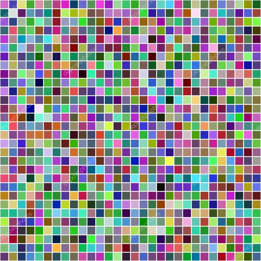 Fondo De Mosaico Multicolor De P 237 Xeles Cuadrados Archivo