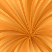 Orange abstract burst design background — Stock Vector
