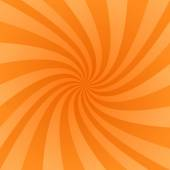 Orange swirl design background — Stock Vector