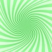 Green spiral pattern background — Stock Vector