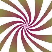 Vinous green swirl design. — Stock Vector