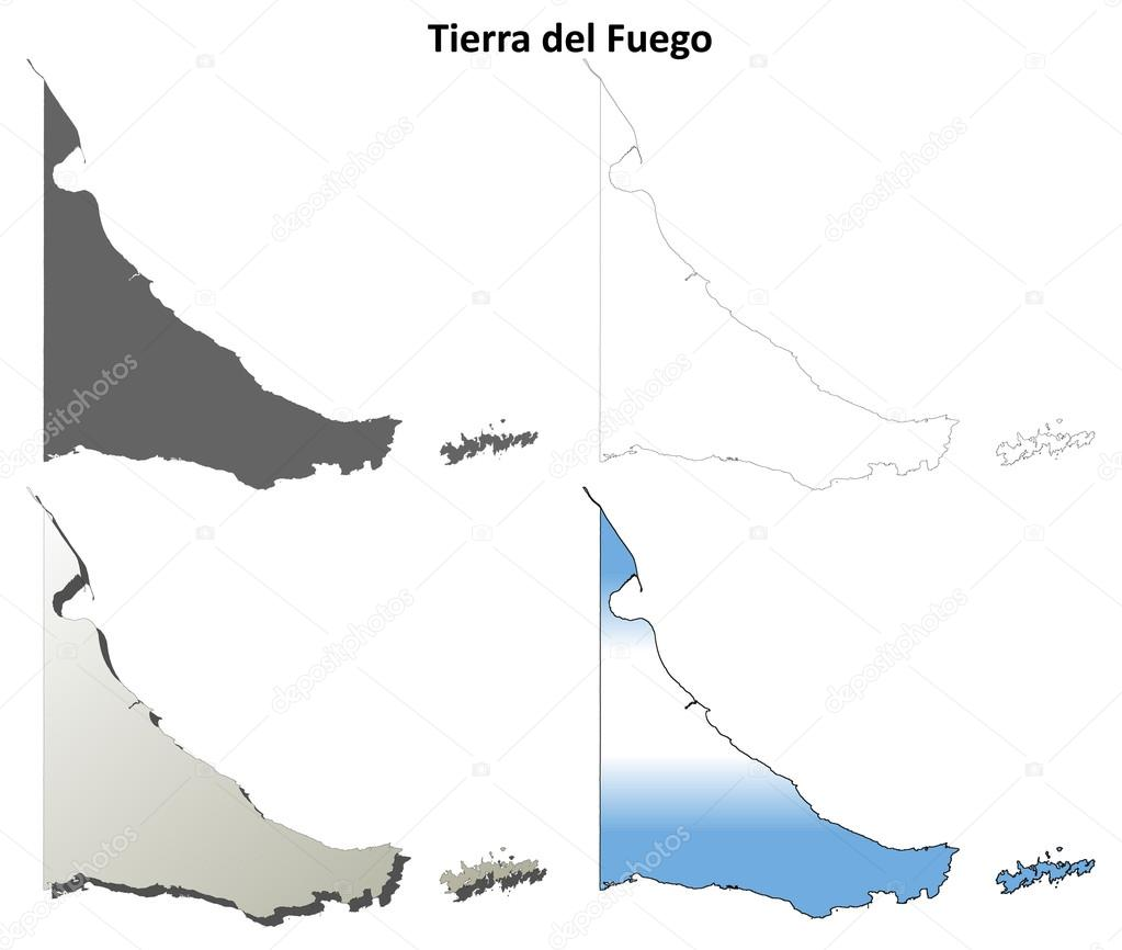 火地岛空白大纲设置的地图