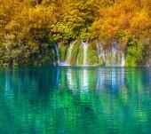 Plitvice lakes of Croatia — Stock Photo