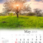 Calendar 2015. May. — Stock Photo #56309465