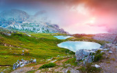 Lakes Del Piani — Stock Photo