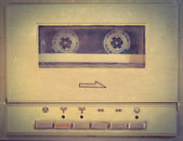 Old cassette player — Stock Photo
