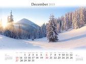 2015 Kalender. Desember. — Stockfoto