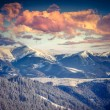 Winter alpine sunset — Stock Photo #59958031