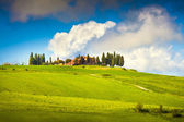 Scenic Tuscany landscape — Stock Photo