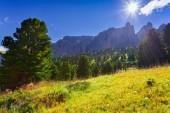 Morning in Italy Alps — Stockfoto