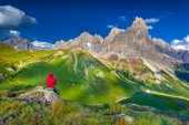 Landscape of Pale di San Martino — Stock Photo