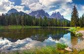 Great view of the  Lago Di Antorno — Stock Photo