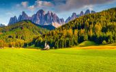 Countryside view of the  Santa Maddalena — Stock Photo