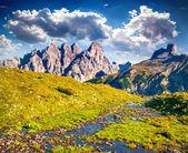 Monte Piana mountain range — Stock Photo