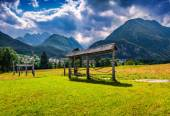 Triglav mountain range — Stock Photo
