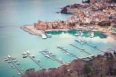 Port of Castellammare del Golfo town — Stock Photo