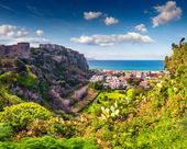 Addolorata district of Milazzo town — Stock Photo
