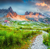 Rifugio Lacatelli in National Park — Stock Photo