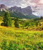 Tofane mountain range — Stock Photo