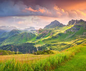 Landscape of the Italian Alps — Stockfoto