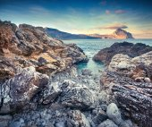 Nature reserve Monte Cofano — Stock Photo