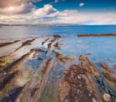 View from Area Marina Protetta del Plemmirio — Stock Photo