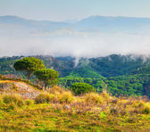 Morning in the Sicilian mountains — Stock Photo