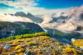 Gruppo Del Cristallo mountain range  — Stock Photo