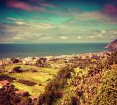 View of the Addolorata district of Milazzo town — Stock Photo