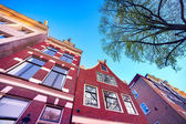 Elements of authentic Dutch architecture — Stock Photo