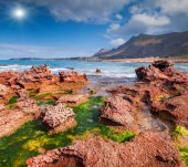 Nature reserve Monte Cofano. — Stock Photo