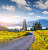 Morning in the Triglav national park — Stock Photo