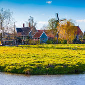 Authentic Holland architecture — Stock Photo