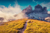 National Park Tre Cime di Lavaredo — Stock Photo