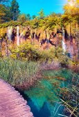Plitvice Lakes National Park. — Stock Photo