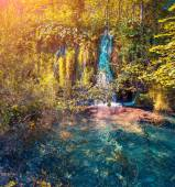 Plitvice Lakes National Park. — Stock Photo