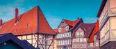 Scene in the Wolfenbuttel village — Stock Photo