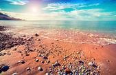 Azure Mediterranean sea — Stock Photo