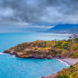 Rain clouds over the   Sicily — Stock Photo #76744145