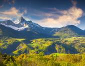 Morning in the French Alps — Stock Photo
