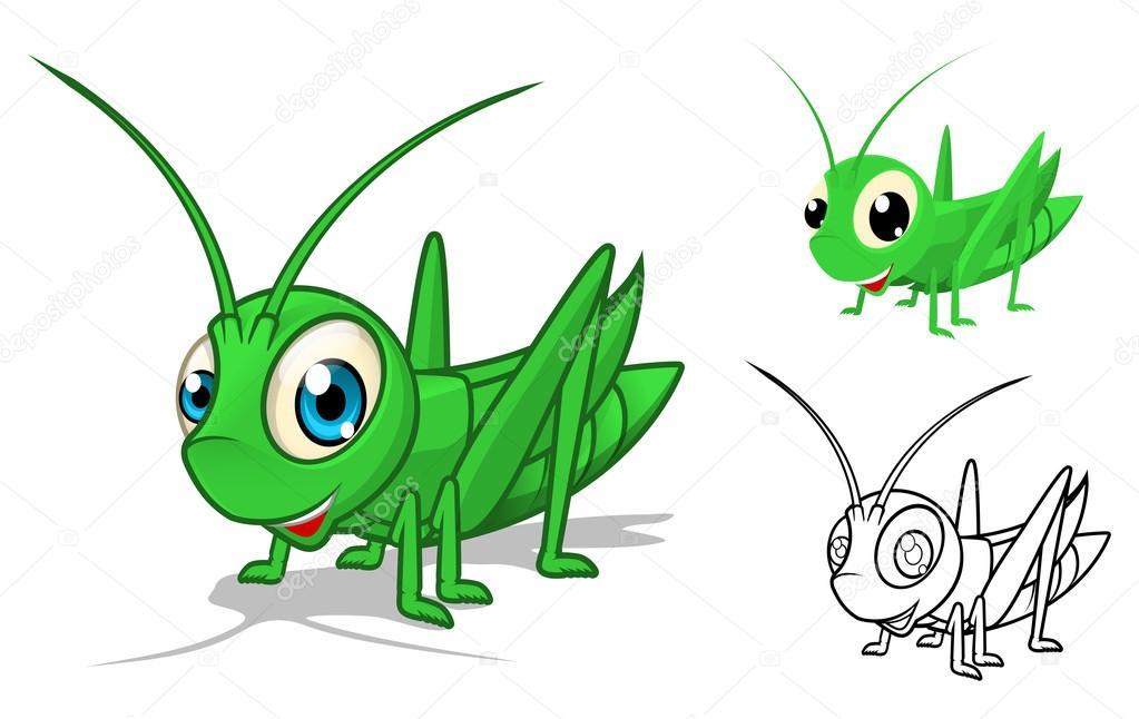 Grasshopper eggs clipart