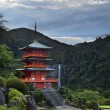 Red Japanese Temple — Stock Photo #56238341