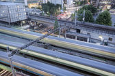 Tokyo railway station — Stock Photo