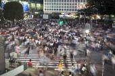 Crossing passers — Stock Photo