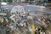 Сrossing passers — Stock Photo
