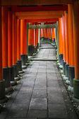 Gates of Fushimi Inari Taisha Shrine — Stock Photo