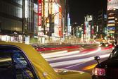 Traffic in tokyo — Stock Photo